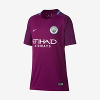 Manchester City 2017-18 Youth Away Jersey