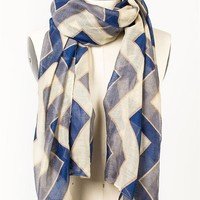 First Class Scarf - Peacoat