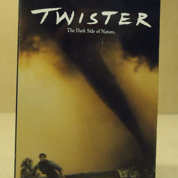 WB Twister VHS Movie  * Plastic * -- Used