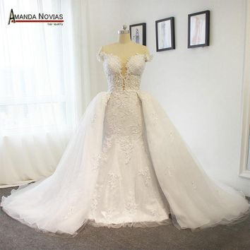 Stunning Wedding Dresses Luxury Wedding Dress With Detachable