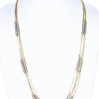 NECKLACE / LINK / METAL / 3/4 INCH DROP / 26 INCH LONG / NICKEL AND LEAD COMPLIANT