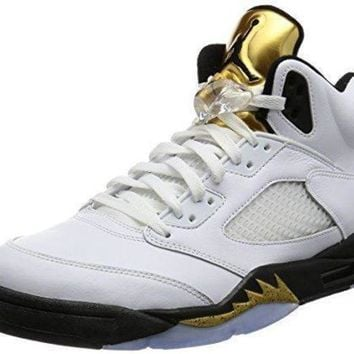 Nike Air Jordan 5 Retro OG Mens Hi Top Basketball Trainers 845035 Sneakers Shoes nike