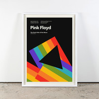 Pink Floyd The Dark Side of the Moon At Radio City Music Hall in New York Gig Poster 1973