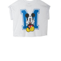 Sitting Mickey Mouse Tee