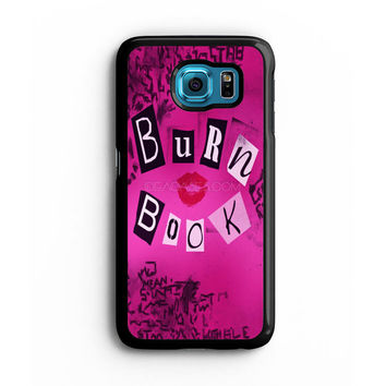 Burn Book Mean Girls Samsung S6 s5 s4 S3 Case, Note 3 4 5 Case, iPhone 6s 5s 5c 4s Cases, iPod case, HTC case, Xperia Z3 case, LG G3 Nexus case, iPad cases