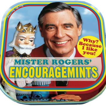 Mister Rogers Encouragemints - PRE-ORDER, SHIPS EARLY JUNE