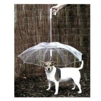 SOCOOL66 1 X Pet Umbrella (Dog Umbrella) Keeps Your Pet Dry and Comfortable in Rain - Novelty Gag Gift