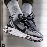 """Nike React Element 87 """"Anthracite"""" Gym shoes"""