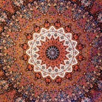 Star Mandala Tapestry - Mellow Mood