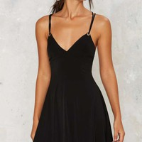 Nasty Gal String Into Play Mini Dress