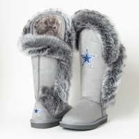 "Dallas Cowboys Women's Cuce Official NFL ""Winner"" Boots"