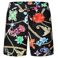 Versace Fashion Casual Men Drawstring Shorts Sweatpants