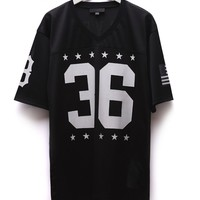 Black Scale Blvck Football Jersey - Mens Tee