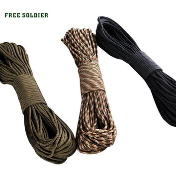 Outdoor 9-core rappel rope Bracelet clasp    Rock-climbing rappel rope   Military supplies kit