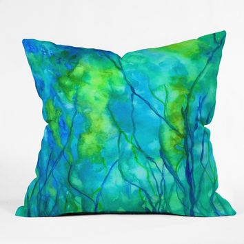 Rosie Brown Ocean Wonder Throw Pillow