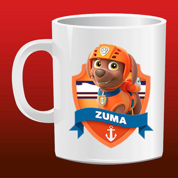 Zuma  Paw Patrol for Mug Design