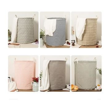 New Large Laundry Hamper Bag Clothes Storage Baskets Home clothes barrel Bags kids toy storage laundry basket