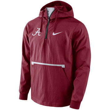 Alabama Crimson Tide Nike Packable Woven Jacket - Crimson