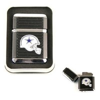 Dallas Cowboys NFL Butane Lighter with Tin Box