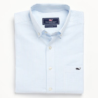 Oxford Stripe Tucker Shirt