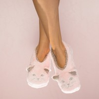 Cat Nap Slippers By Faceplant Dreams Large