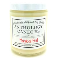 Magical Ball Candle - Anthology Candles, Harry Potter Candle, Scented Soy Candle, Book Candle, 8oz Jar
