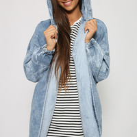 Hit The Wall Jacket - Light Denim