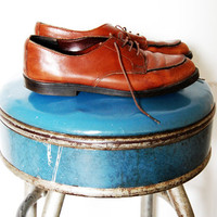 Vintage Brown Leather Shoes