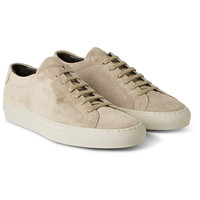 Common Projects - Original Achilles Suede Low Top Sneakers | MR PORTER