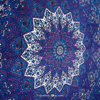 LARGE psychedelic tapestry,star mandala tapestry bohemian bedspread,indian bedspread,mandla throw, beach throw, dorm tapestry