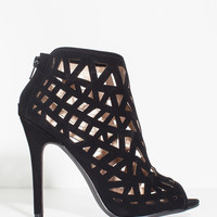 Ara-37 Cut Outs Cage Bootie