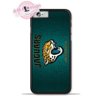 Jacksonville Jaguars Football Fans Phone Cover Case For Apple iPhone X 8 7 6 6s Plus 5 5s SE 5c 4 4s For iPod Touch