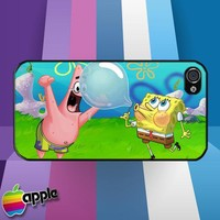Spongebob and Patrick Buble iPhone 4 or iPhone 4S Case