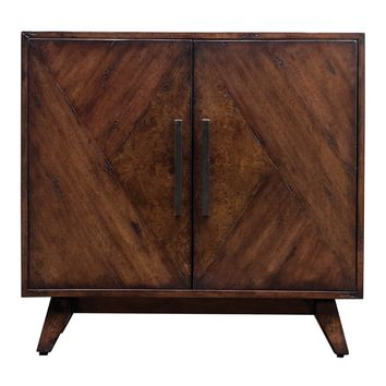 Liri Mid-century Accent Cabinet by Uttermost