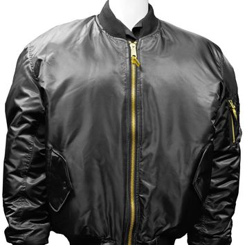 Humvee MA1 Flight Jacket - Black