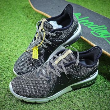 Nike Air Max Sequent 3 Black Grey 921694 011 Sport Running Shoes Sale