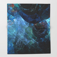 Beneath The Sea Throw Blanket by Christy Leigh | Society6