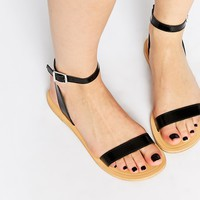 ASOS FANCY ME Leather Sandals