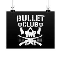 Bullet Club Horizontal Fine Art Prints (Posters)