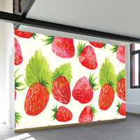 Strawberry Fields Wall Mural