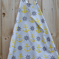Nautical Nursing Cover/Anchors Nursing Cover/ Sail Nursing Cover/ Nursing Covers
