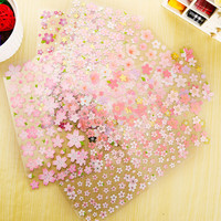 1 x romantic sakura adhesive paper sticker decorative DIY scrapbooking sticker post it kawaii stationery