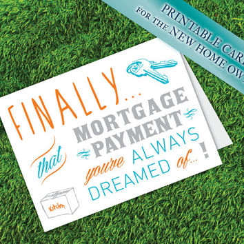 New House Card | Special Occasion Card | New Home Owner Congratulations
