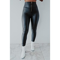 REORDER: With The Band Pants: Black