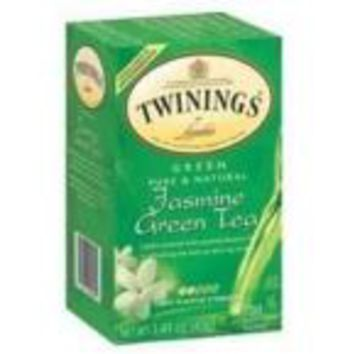 Twinings Jasmine Green Tea (6x20 Bag)