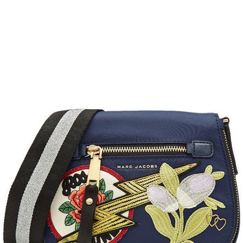 Shoulder Bag with Patches - Marc Jacobs | WOMEN | US STYLEBOP.COM