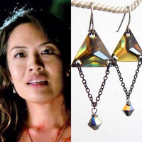 As Seen on TV - The Vampire Diaries - Trinity earrings - designed with Swarovski® Crystals - TVD