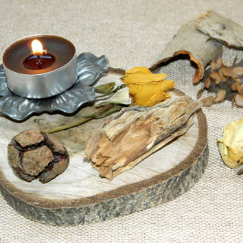 50% OFF! BIG SALE! Wood Candle holder,Forest decor,Wedding lighting,home decor,candlestick,centerpiece,candle piece,tealight,tea light