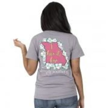 """Simply Southern State """"Missouri"""" Tee"""
