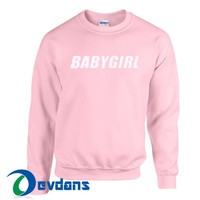 Baby Girl Sweatshirt Unisex Adult Size S to 3XL | Baby Girl Sweatshirt